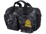 Мужская дорожная сумка с нашивкой Погранвойск - заказать выгодно