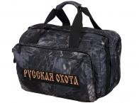 Мужская дорожная сумка с нашивкой Русская Охота купить с доставкой