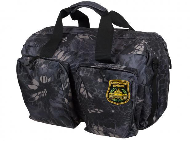 Мужская дорожная сумка с нашивкой Танковые Войска