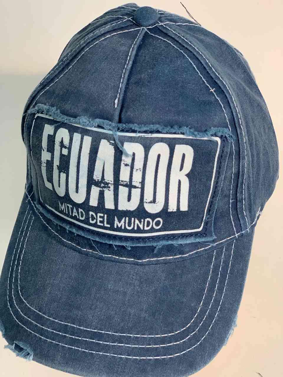 Мужская джинсовая кепка ECUADOR