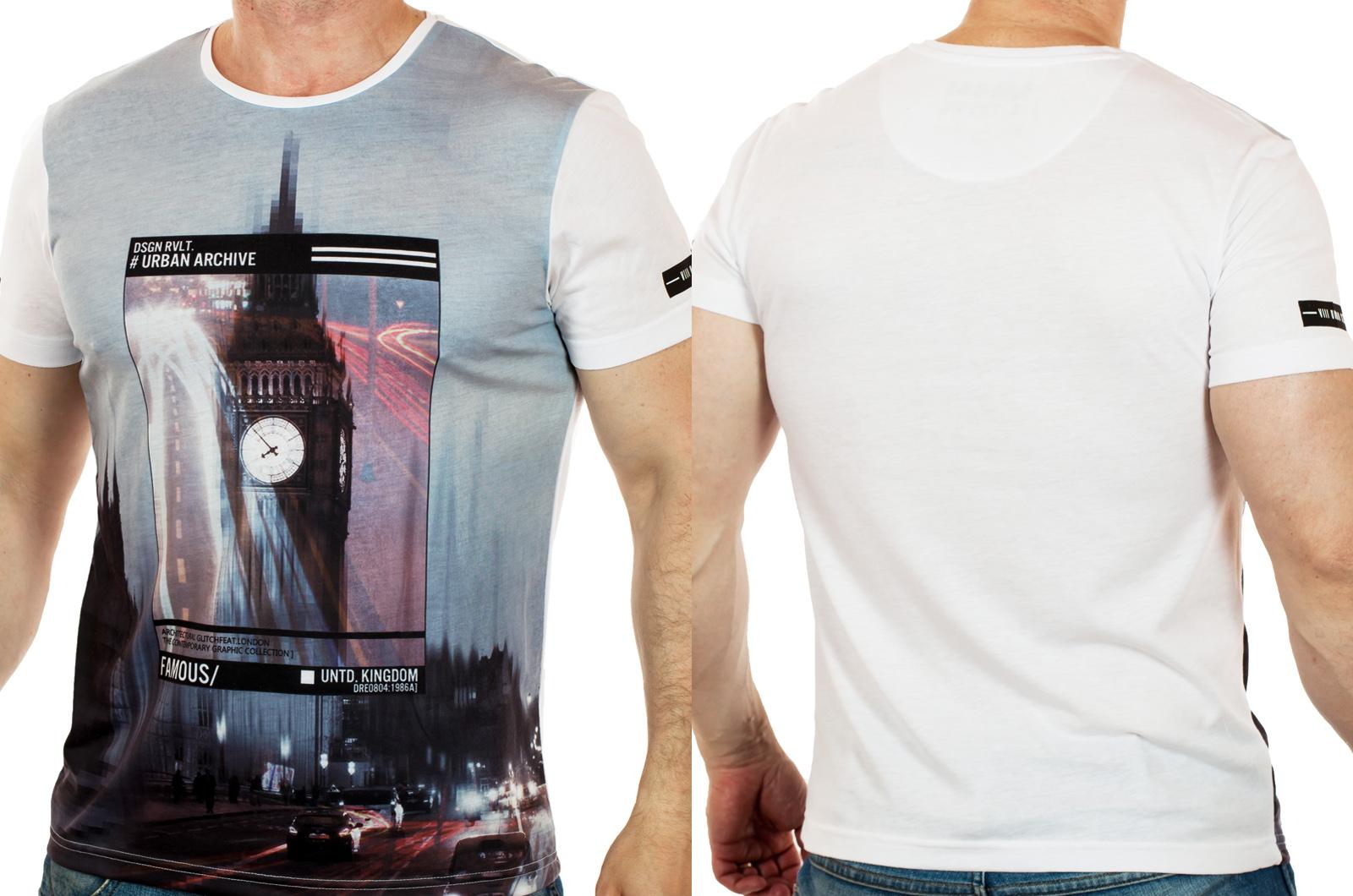Мужская футболка из легкой ткани от ТМ Max Young Man. Комфорт и стиль без компромиссов