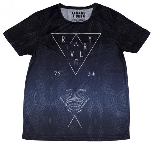 Мужская футболка Max. Геометрический рисунок, качественный пошив