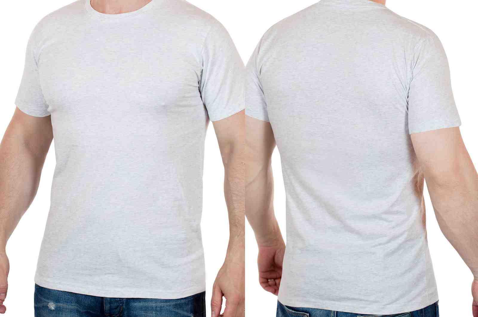 Мужская футболка от Academy - американский тренд-двойной ракурс