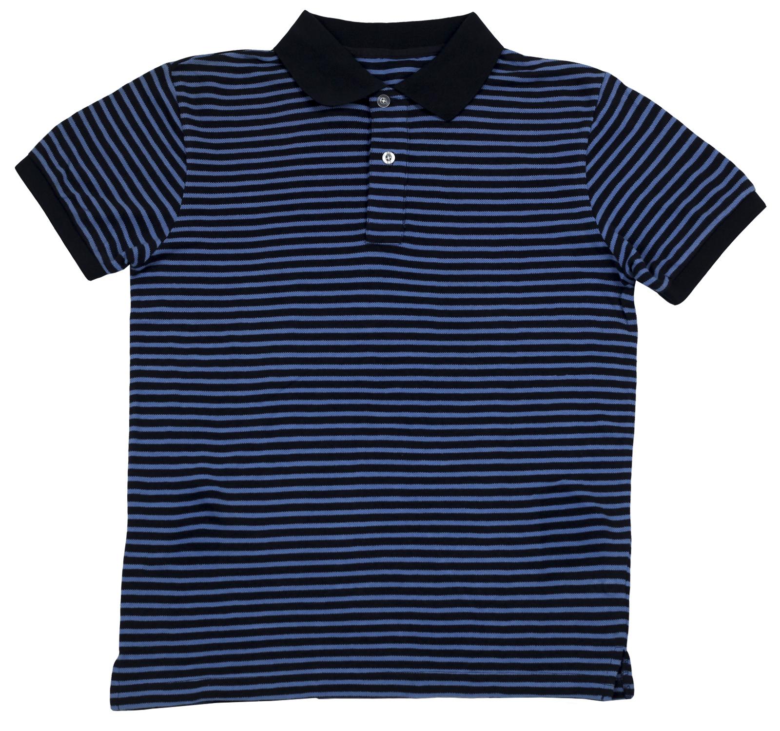 Мужская футболка-поло Lono Brios в полоску