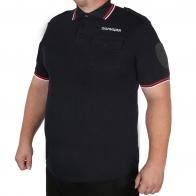 Мужская футболка-поло полиции
