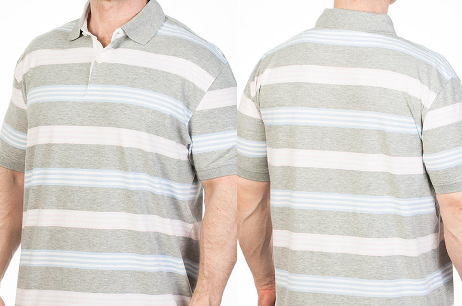 Мужская футболка-поло в полоску в интернет-магазине