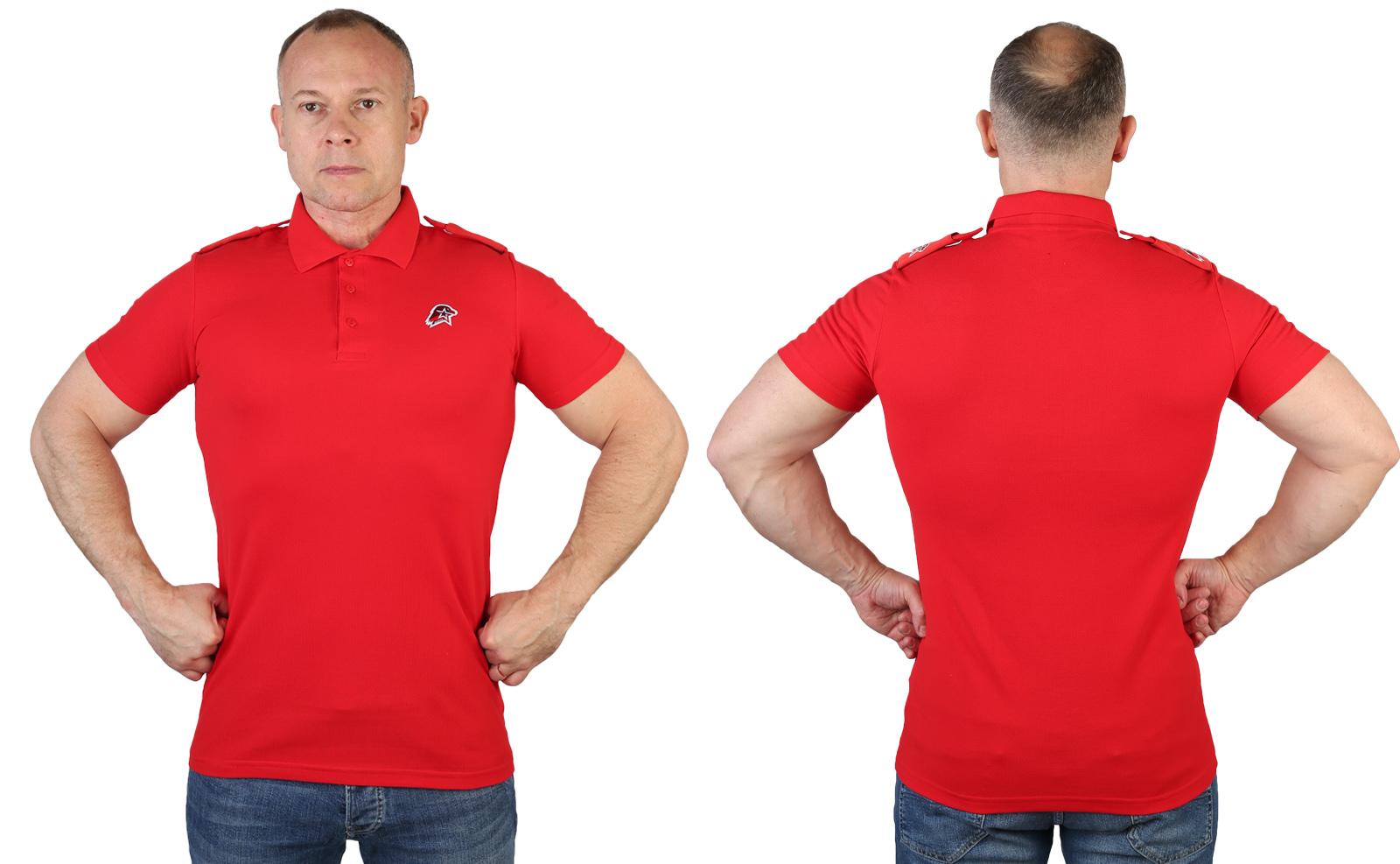 Мужская футболка поло «Юнармия»