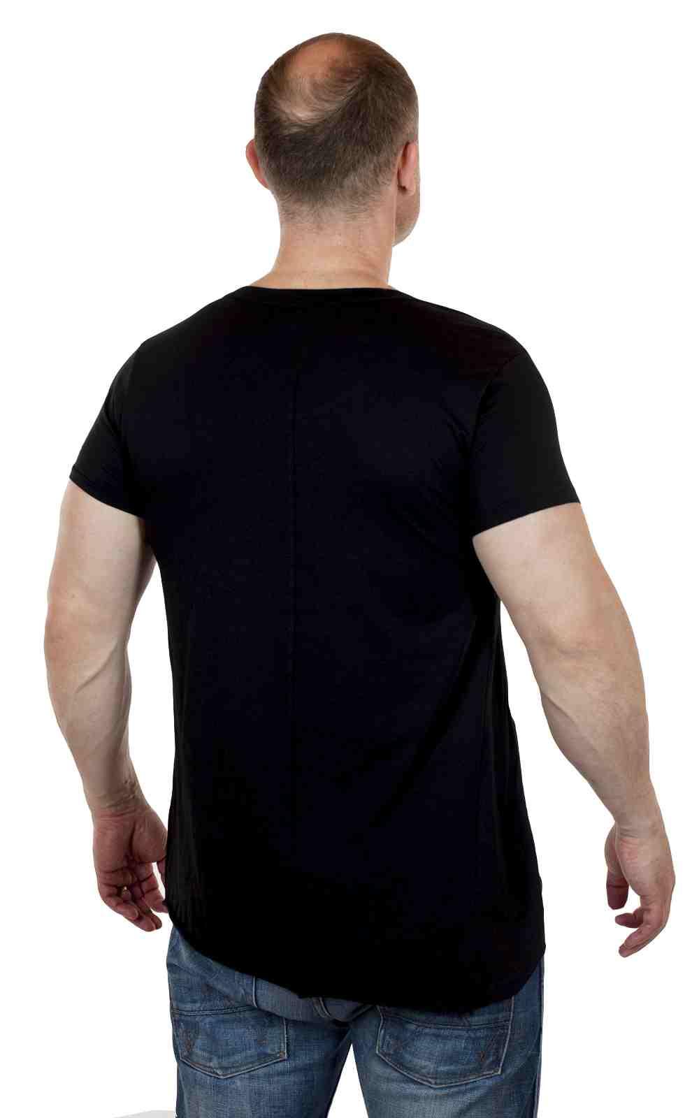 Мужская футболка премиум класса от Commoners (Новая Зеландия)-сзади
