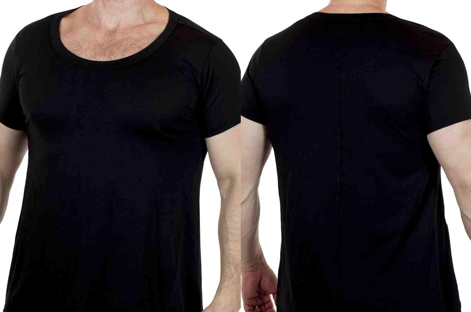Мужская футболка премиум класса от Commoners (Новая Зеландия)-двойной ракурс