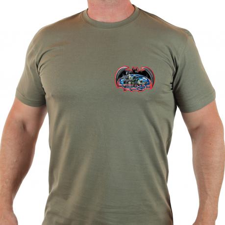 Мужская футболка с нашивкой Спецназ ГРУ