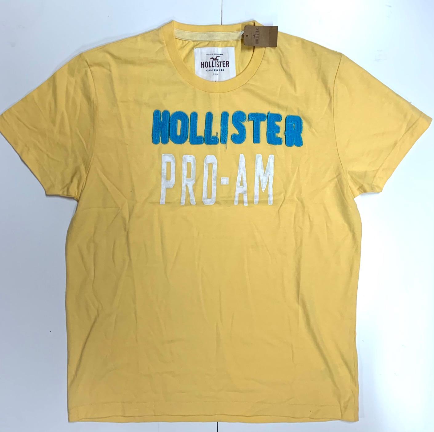 Мужская футболка с принтом Hollister