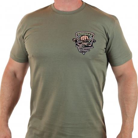 Мужская футболка с шевроном Рыболовных войск