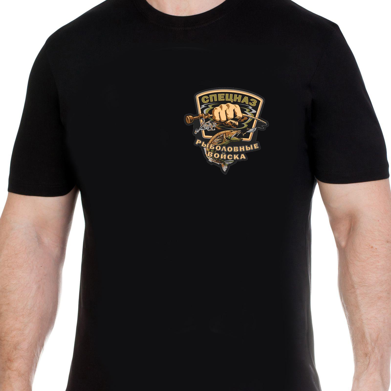 Мужская футболка с тематическим принтом - купить онлайн