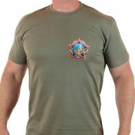 """Мужская футболка с термотрансфером """"Победа"""""""