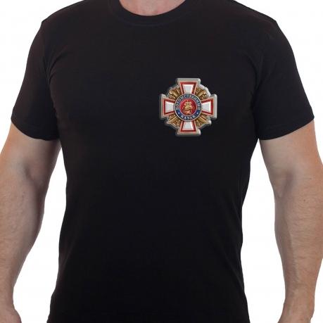 """Мужская футболка с термотрансфером """"Потомственный казак"""""""