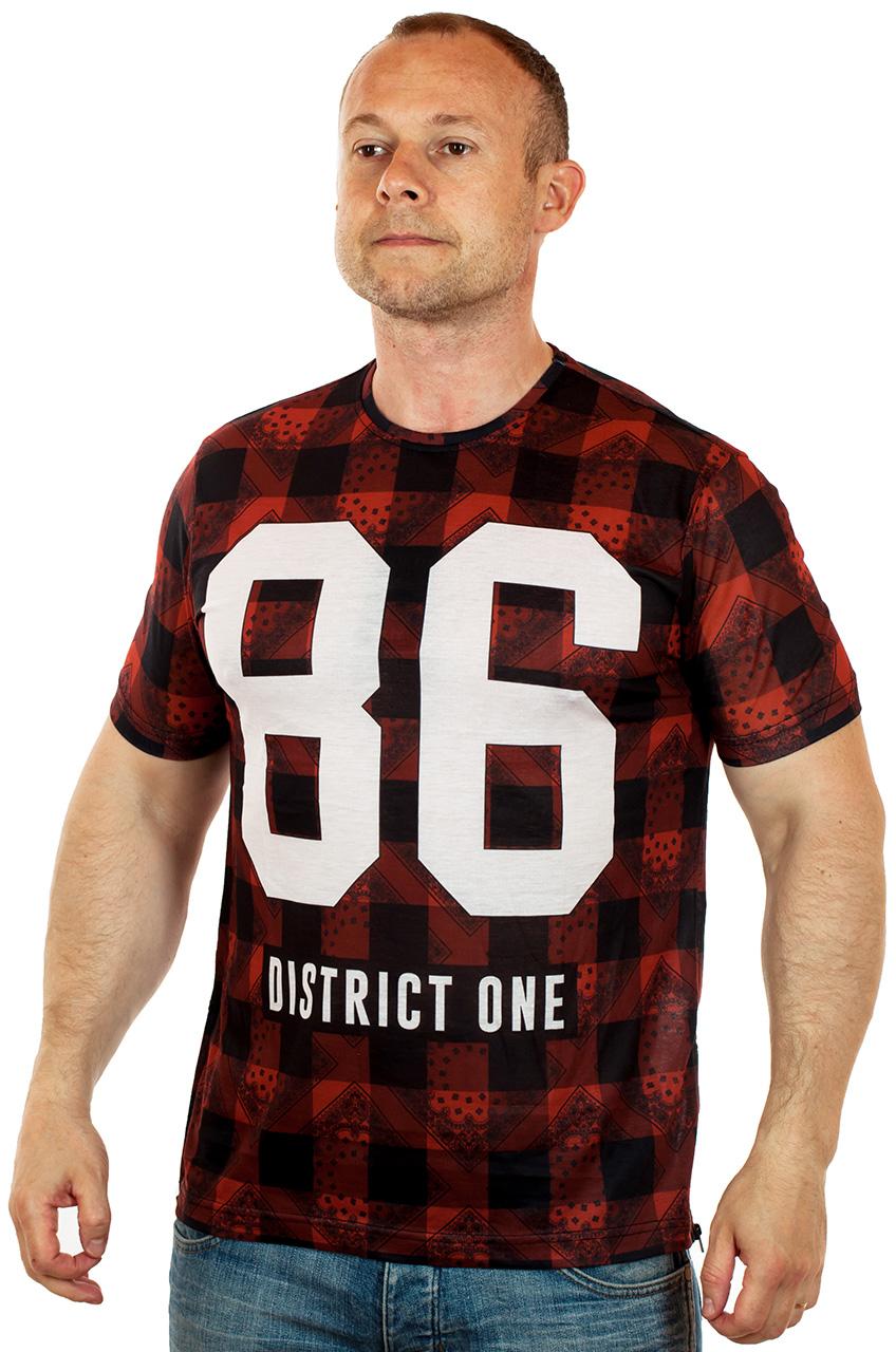 Купить мужскую футболку в клетку – тренд 2017