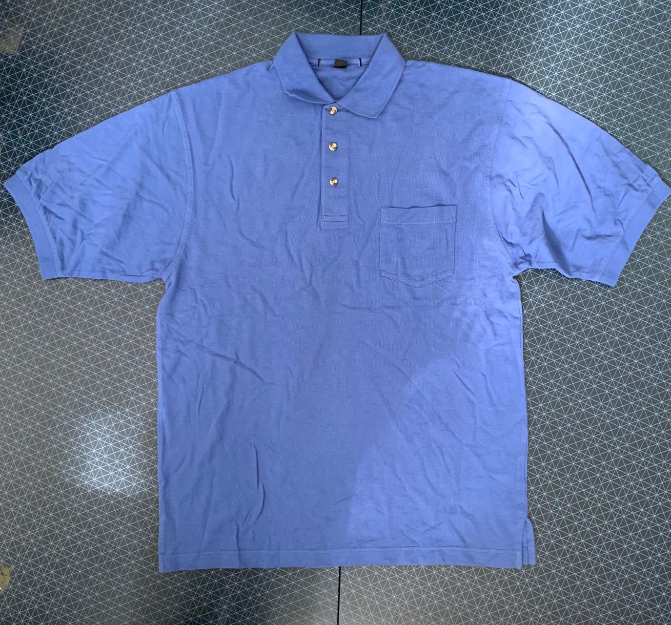 Мужская голубая футболка от Port Authority