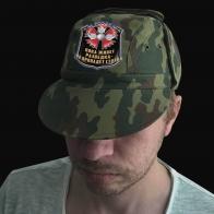 Мужская камо-кепка с шевроном Военной Разведки