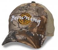 Мужская камуфляжная кепка от Browning.