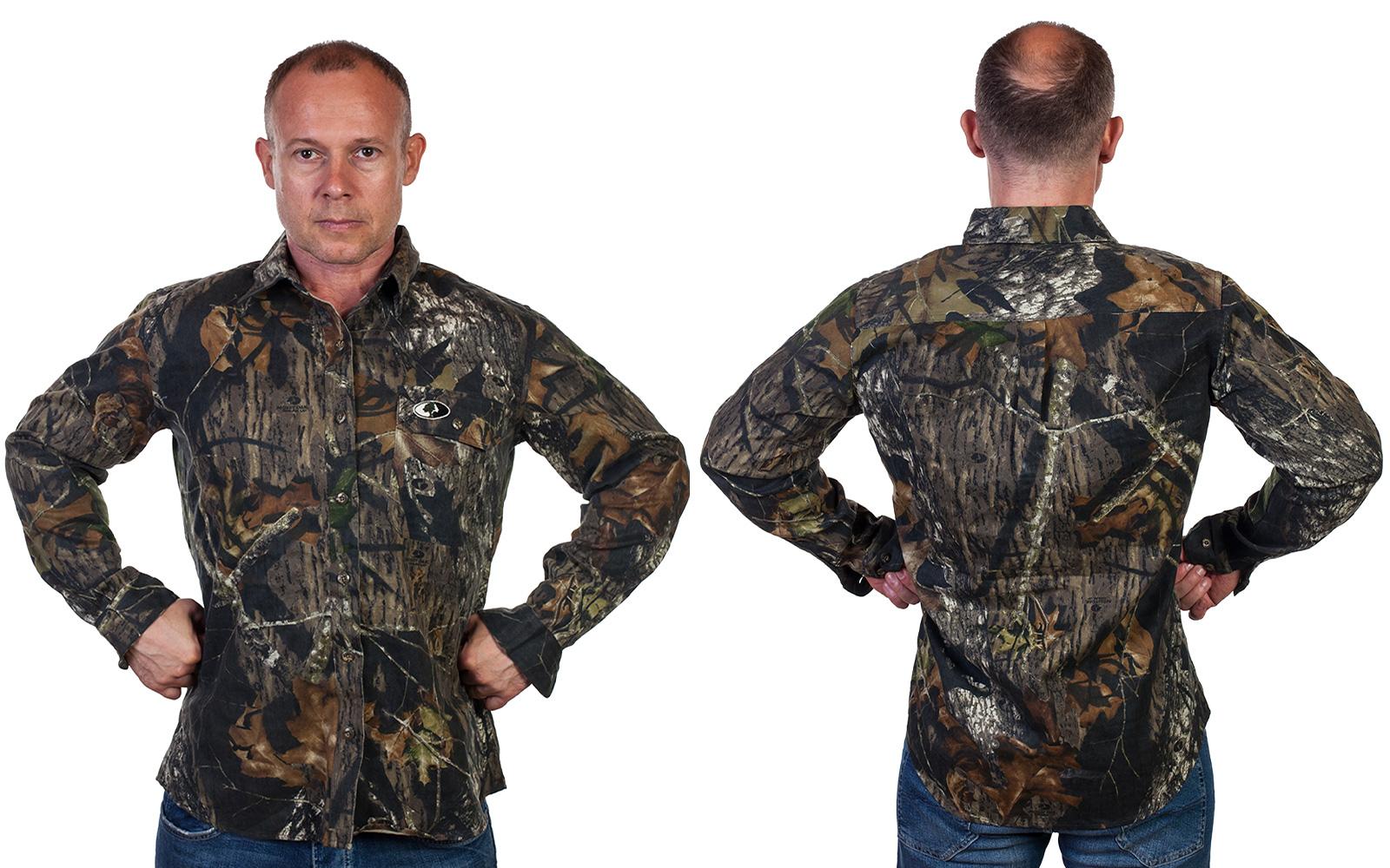 Мужская камуфляжная рубашка Mossy Oak