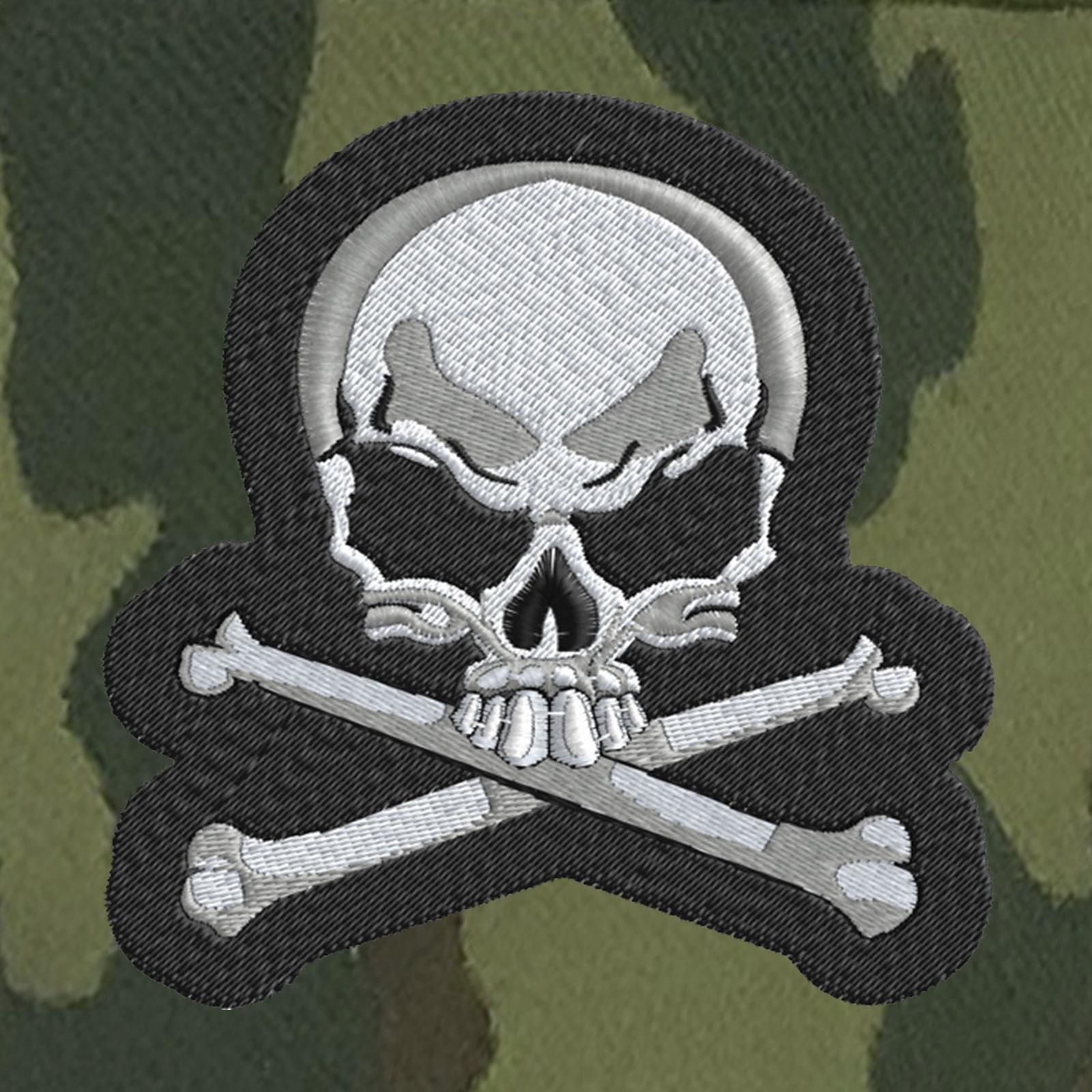 Мужская милитари кепка с черепом