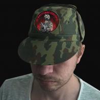 Мужская кепка камуфляж с шевроном Внутренних Войск
