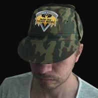 Мужская кепка-камуфляж с шевроном Военной Разведки