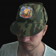 Мужская кепка-камуфляж с вышивкой За улов