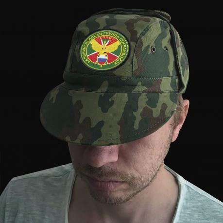 Мужская кепка с шевроном Калининградской группы погранвойск, КППО