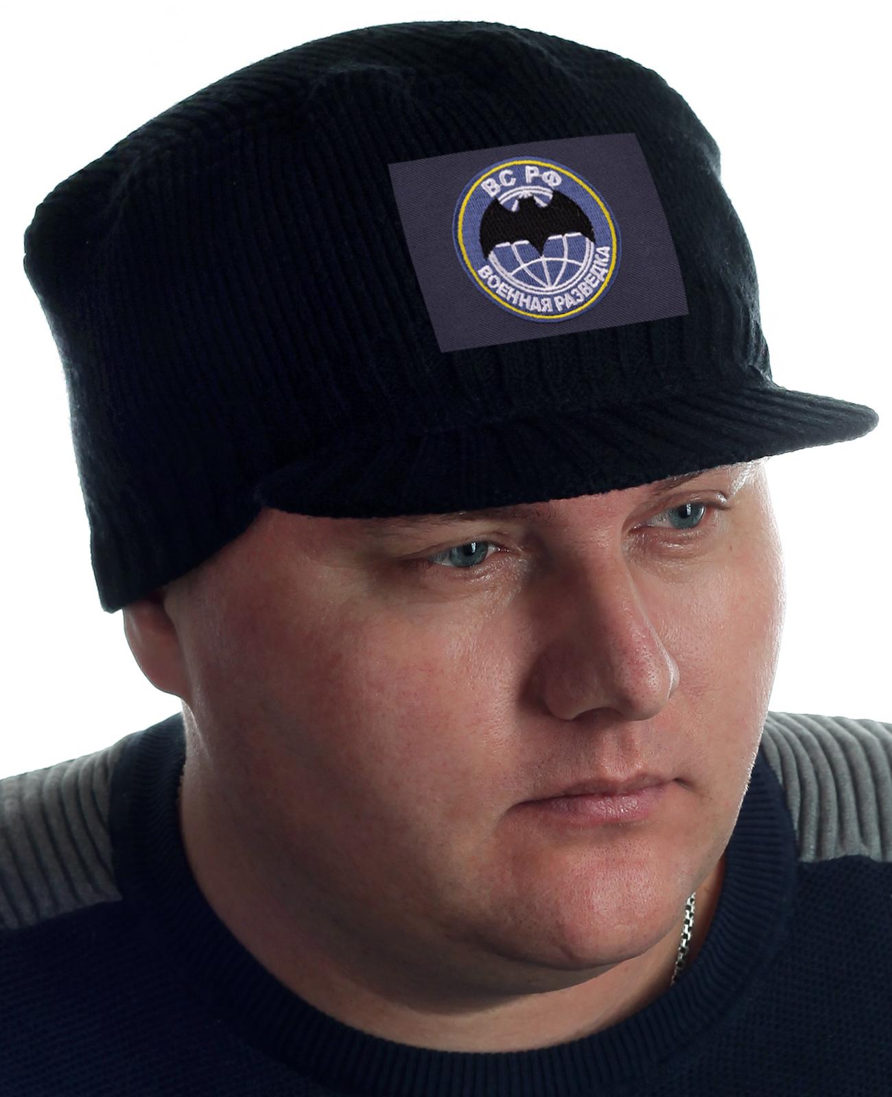 Недорогие теплые кепки для мужчин с нашивкой Военная разведка
