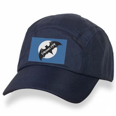 Мужская кепка с символикой Спецназа ГРУ