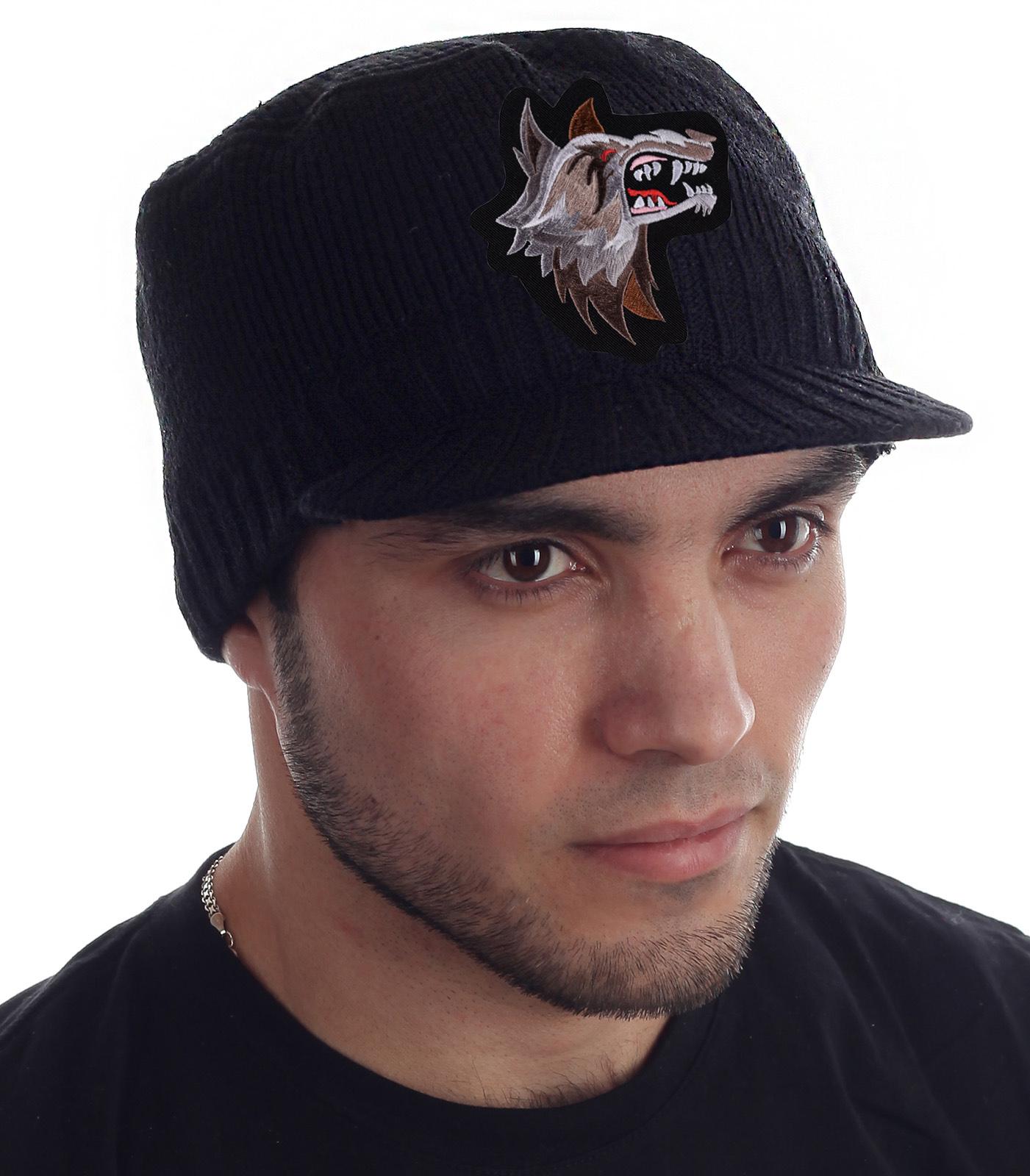 Купить недорого теплую мужскую кепку с козырьком