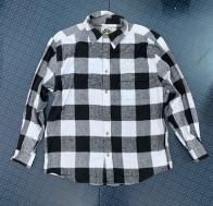Мужская клетчатая рубашка от OLD MILL