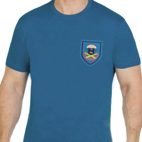 Мужская комфортная футболка с вышивкой ВДВ