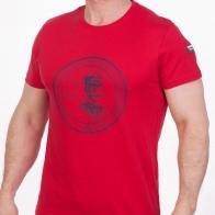 Мужская красная футболка  (National Geographic Society, США)