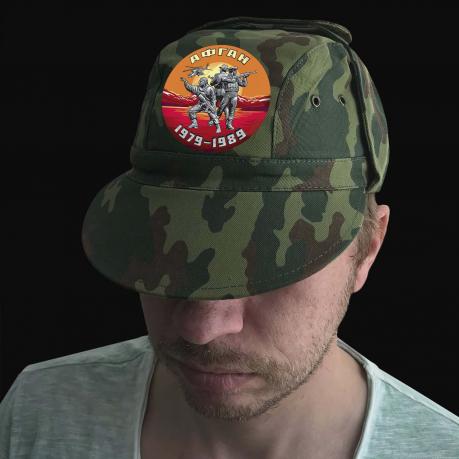 Мужская крутая кепка с термотрансфером  Афган