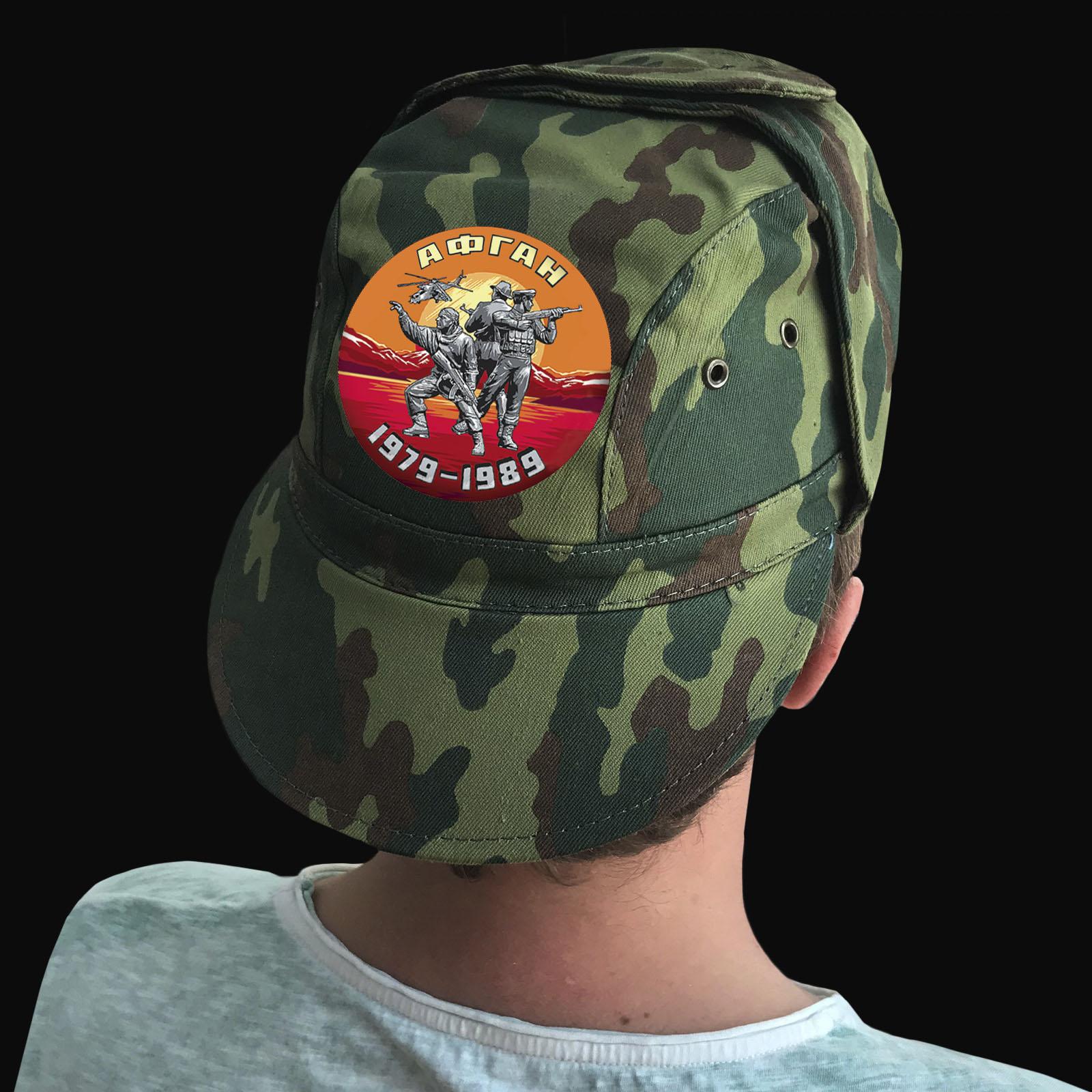 Купить мужскую крутую кепку с термотрансфером  Афган с доставкой онлайн