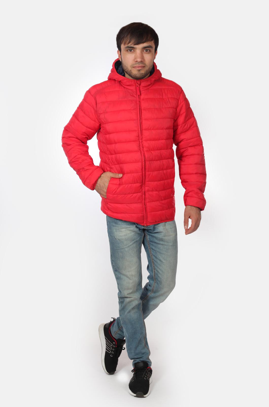 Мужская куртка красного цвета от Urb доступна для заказа