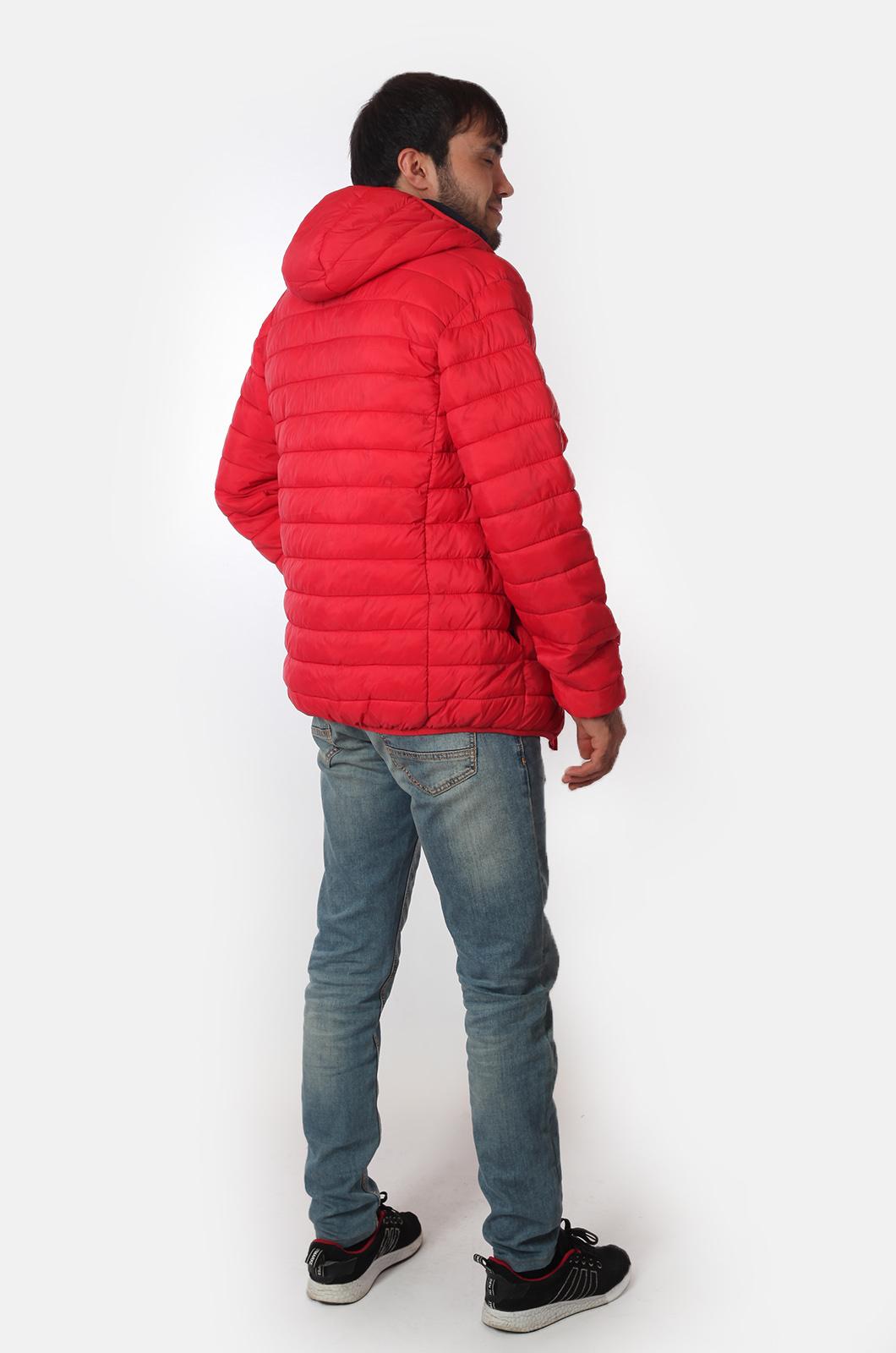 Мужская куртка красного цвета от Urb с удобной доставкой