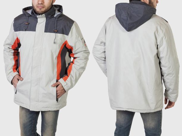 Куртка мужская  Atlas for MEN с контрастными вставками