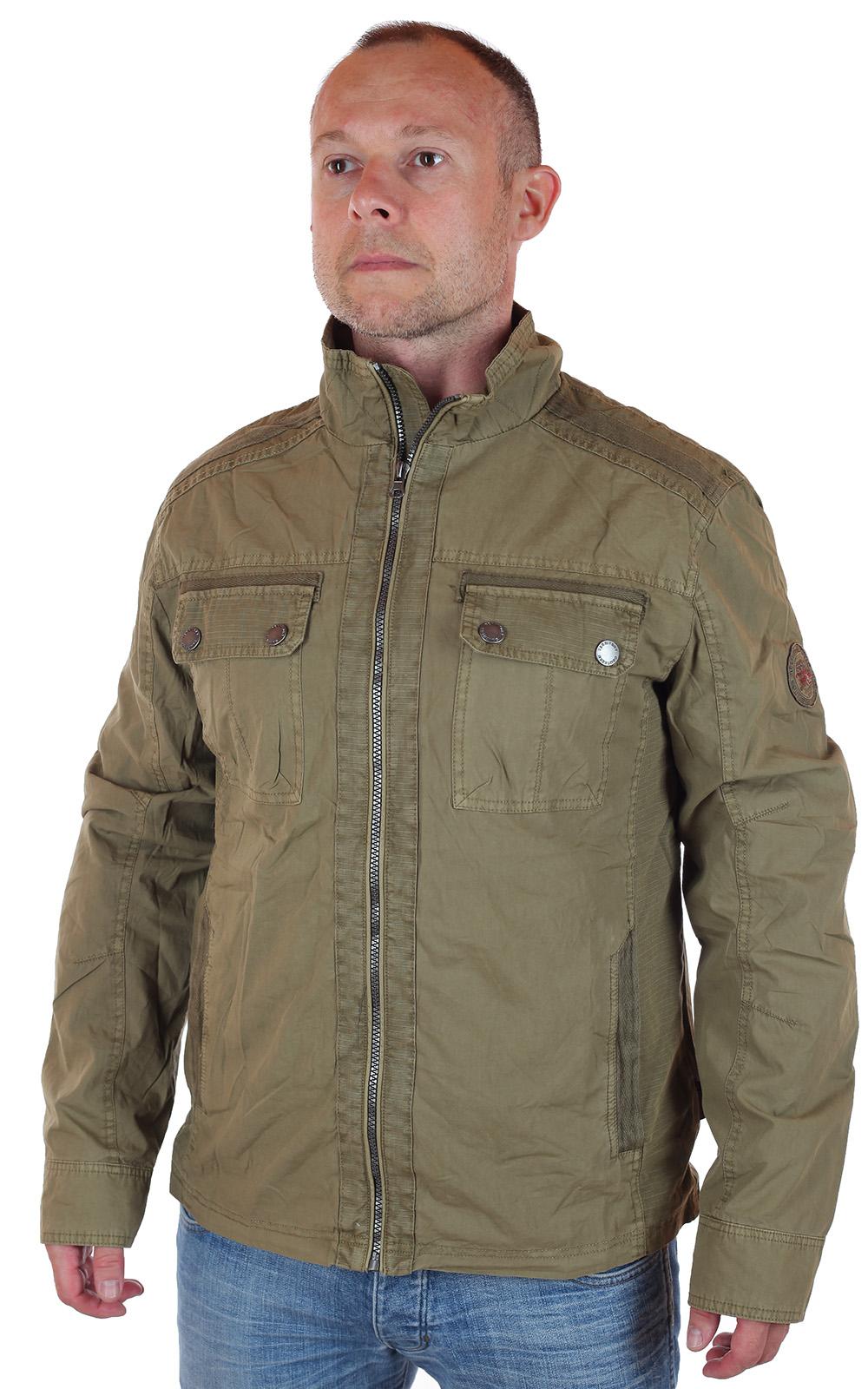 Демисезонная мужская куртка парка, купить по цене 999 рублей