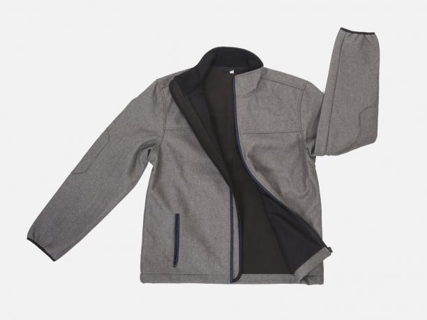 Мужская куртка с флисом