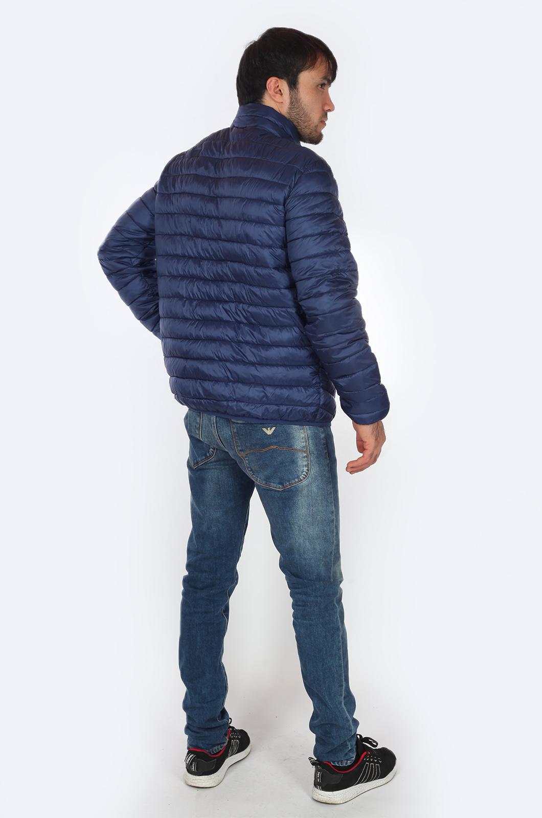 Мужская куртка синего цвета от JCT & CO (США) для прохладного межсезонья