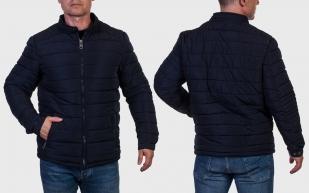 Мужская куртка темно-синего цвета от Hölstark petit
