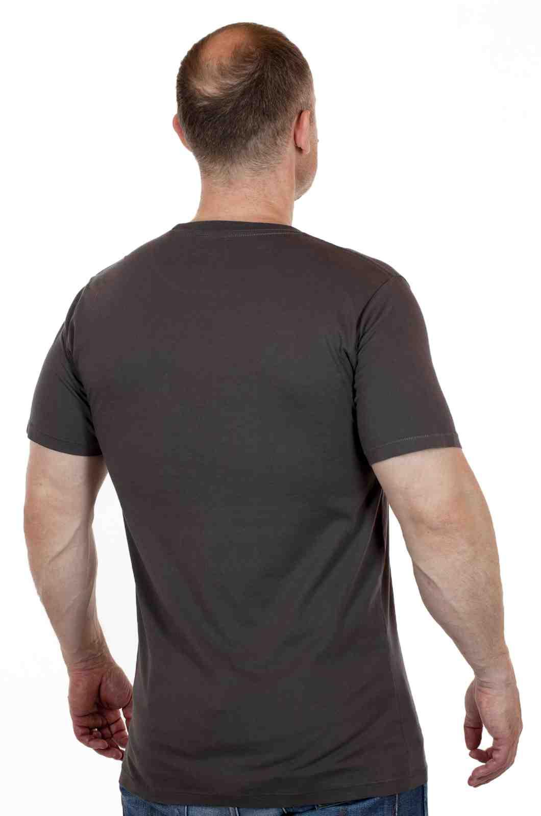 Мужская летняя футболка на каждый день ARTICLE-сзади
