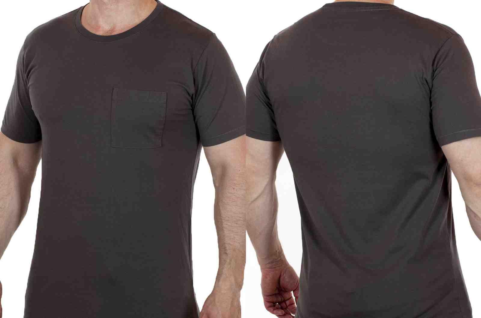 Мужская летняя футболка на каждый день ARTICLE-двойной ракурс