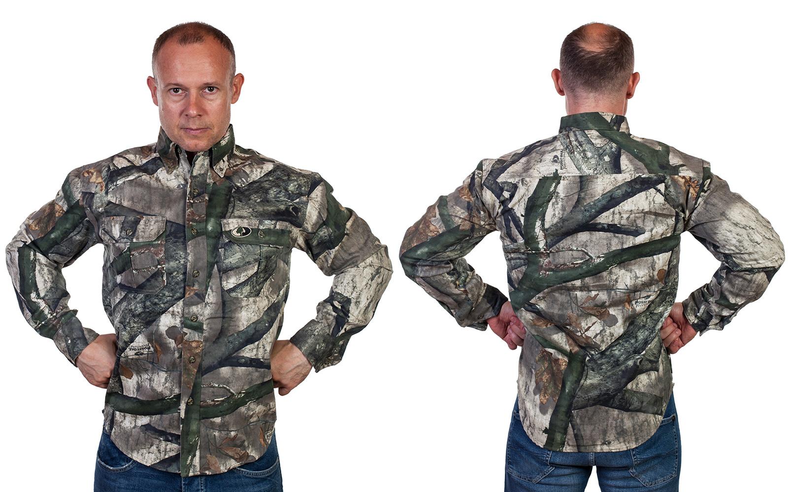 Мужская милитари-рубашка от Mossy Oak