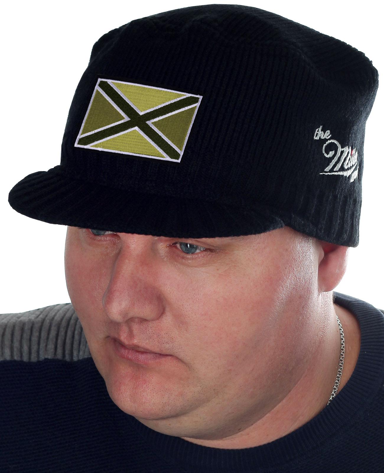 Мужская модная шапка с козырьком от Miller Way - купить оптом