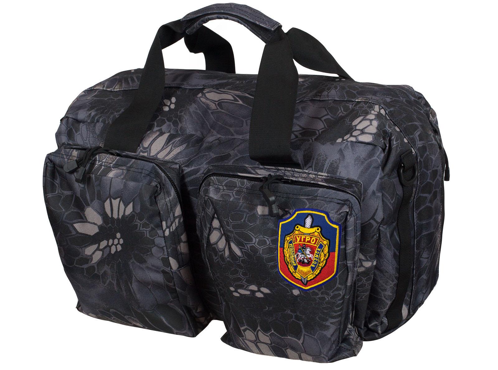 Мужская надежная сумка с нашивкой УГРО