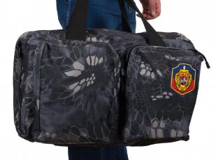 Мужская надежная сумка с нашивкой УГРО - заказать оптом